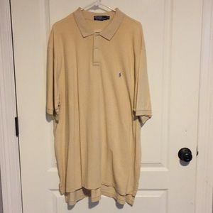 Polo by Ralph Lauren Cream Golf Shirt 2XLT